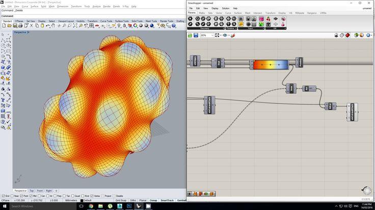 Grasshopper - Visualising Data for optimising a Simulation (in Kangaroo)