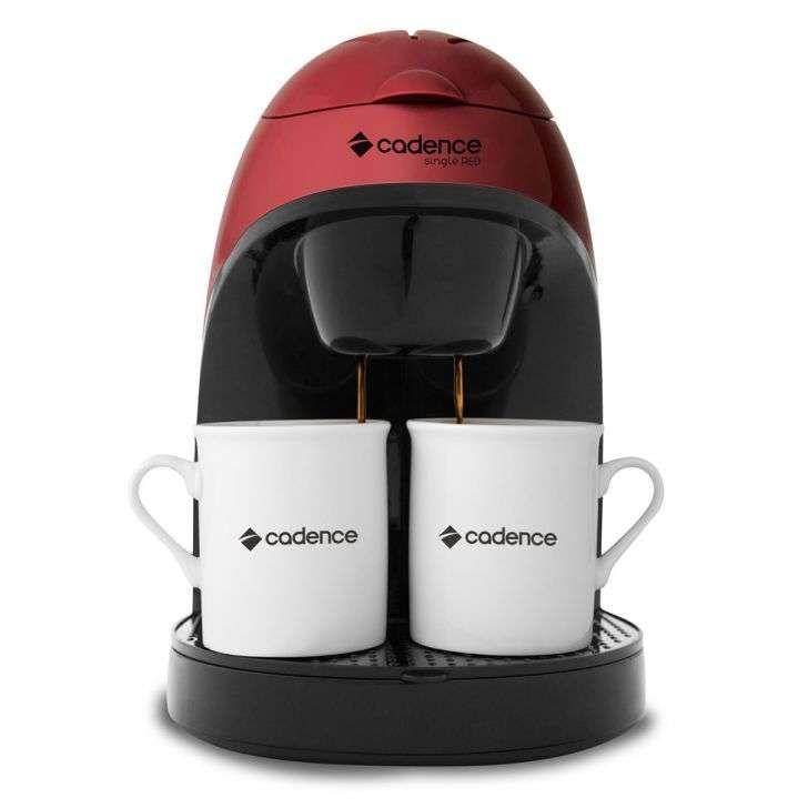 Cafeteira Single Red 2 Cafés Cadence 110 V 450W