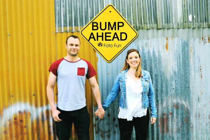 Emma & Harland Bump ahead