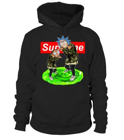 # Rick and Morty Supreme t-shirt .  Rick and Morty Supreme t-shirt, sweater, hoodie