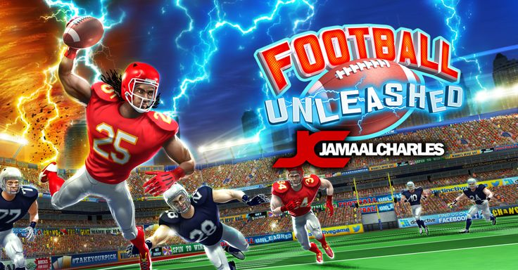 Football Unleashed JAMAAL CHARLES rocks the App Store and Google Play! http://fnky.link/unleashed