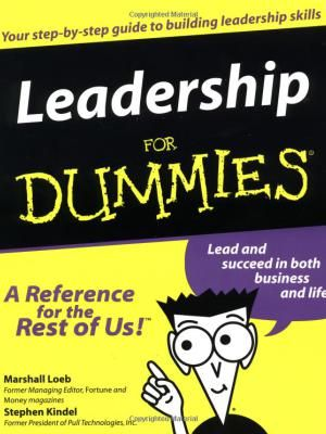 The Leadership for Dummies ebook is designed to help you to understand different aspects of leadership and how to lead in different contexts and situations. For a limted time, you can download this ebook for free ($19.99 value)