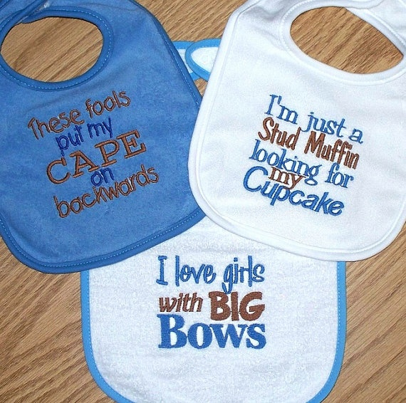 23 Best Cute Amp Funny Baby Bibs Images On Pinterest Funny