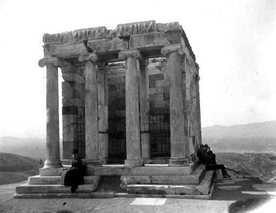 Ναός Αθηνάς Νίκης 1893-94.