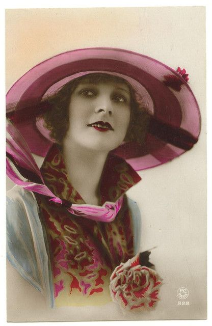 1920s post card