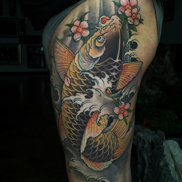 Best 25 pez koi tattoo ideas on pinterest tatto pez tattoo pez and pez koi - Carpe koi signification ...