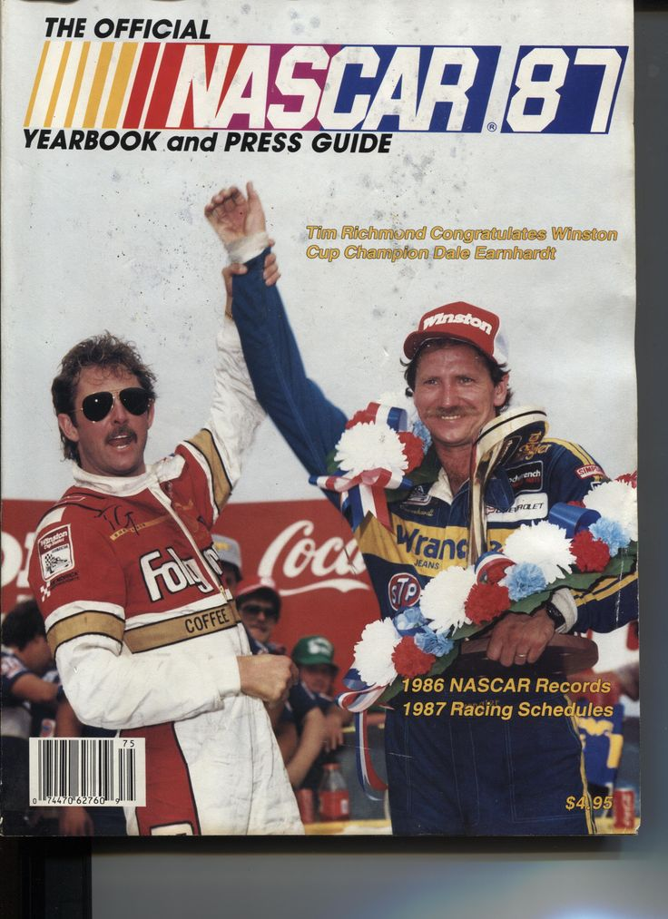 Dale Earnhardt and Tim Richmond