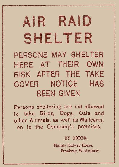 Vintage London Underground & WW2 AIR RAID SHELTER SIGN 250gsm ART CARD Gloss A3 Reproduction Poster: Amazon.co.uk: Kitchen & Home