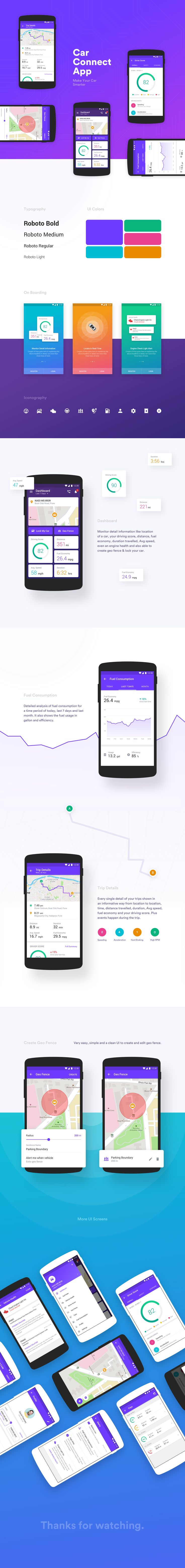 Car Connect App — Case Study / Prakash Ghodke