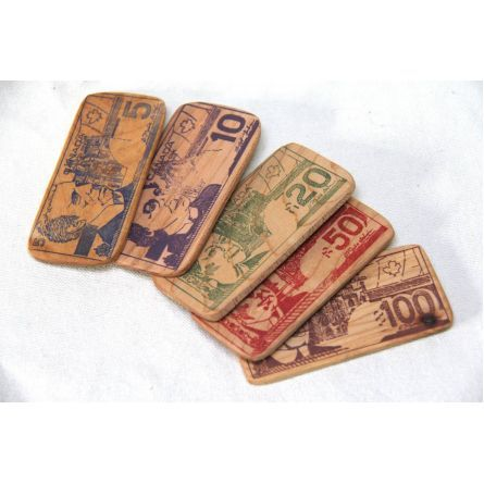 Gifts :: For Kids & Babies :: cash - wooden play money