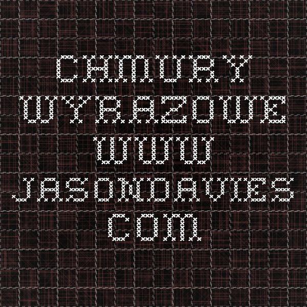 CHMURY WYRAZOWE www.jasondavies.com