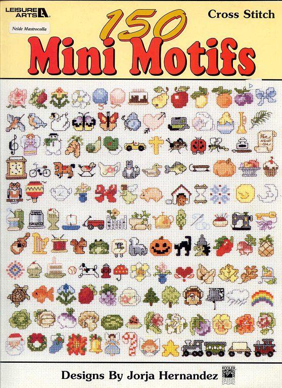 GRAFICOS DE MOTIVOS MINIATURAS | Aprender manualidades es facilisimo.com