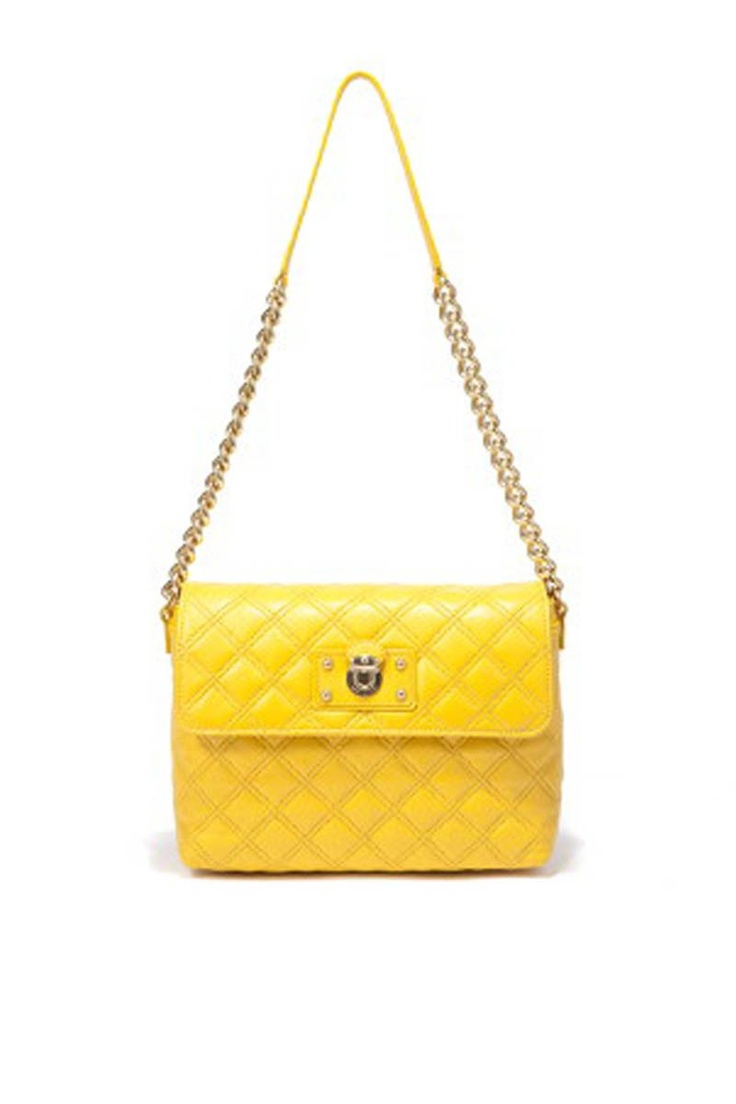 The Large Single' Shoulder Bag (Yellow) from Marc Jacobs Handbags on Brandsfever #MarcJacobs