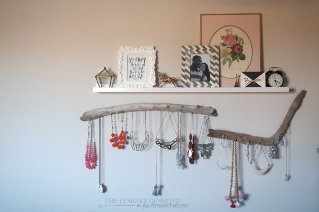 17 practical ideas for organizing your jewelry