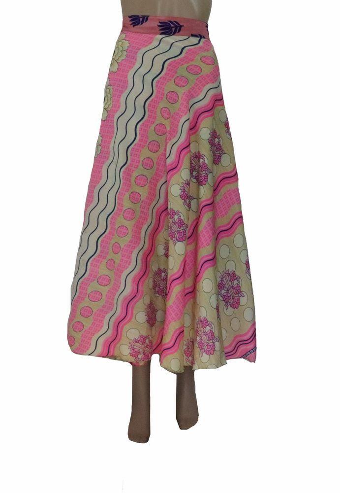 da256128f230 Bohemian Reversible Women's Long Wrap Skirt Hippie Causal Beach Wrap Skirt  14 #Unbranded #WrapSarong #Casual