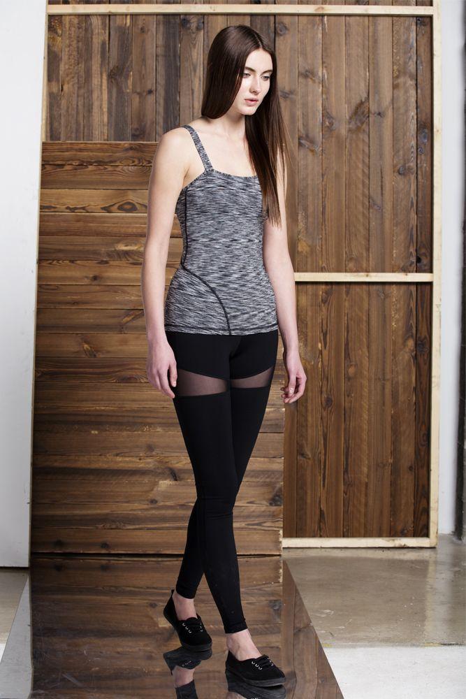 Crystal pants Black/ Black mesh// other colour: Black / BLack mesh/ B&W melange, Black/ Black Mesh/ Heather Black// Shop now:https://aumnie.com/product/crystal-pants-blackblack-meshblack/