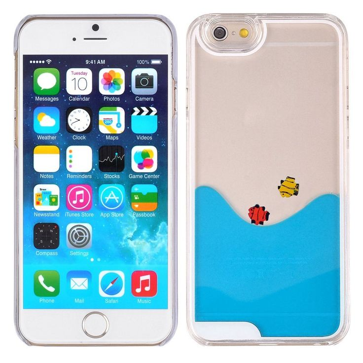apple iphone 100000000000. the water and fish move! for iphone 6 #iphone case #aquarium phone apple iphone 100000000000