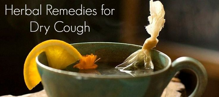how to break up a dry cough