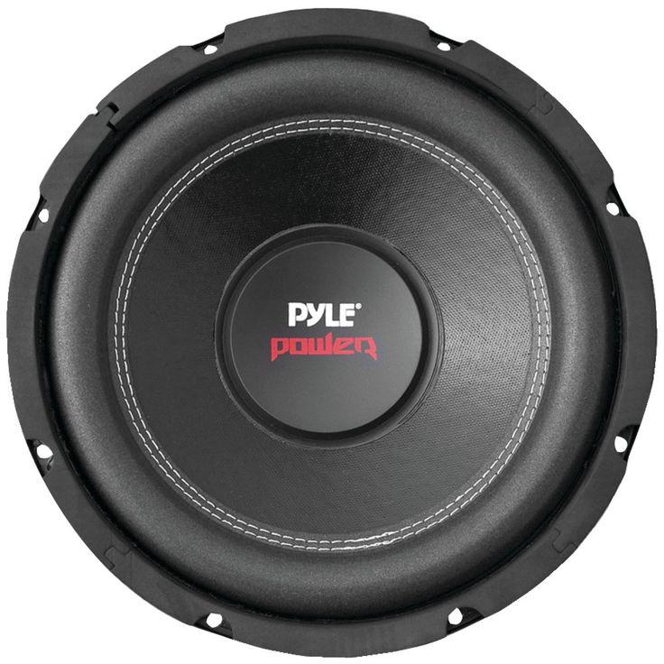 "Pyle Pro Power Series Dual Voice-coil 4ohm Subwoofer (10"" 1000 Watts)"