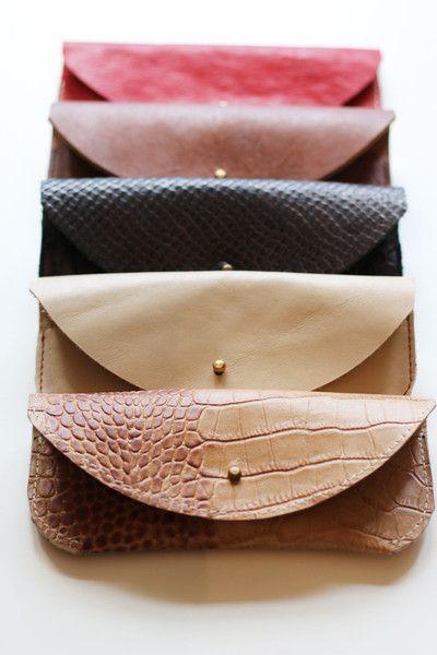 ETUI NA OKULARY ZE SKÓRY KROKODYLA - PMR-leathercraft - Etui na okulary