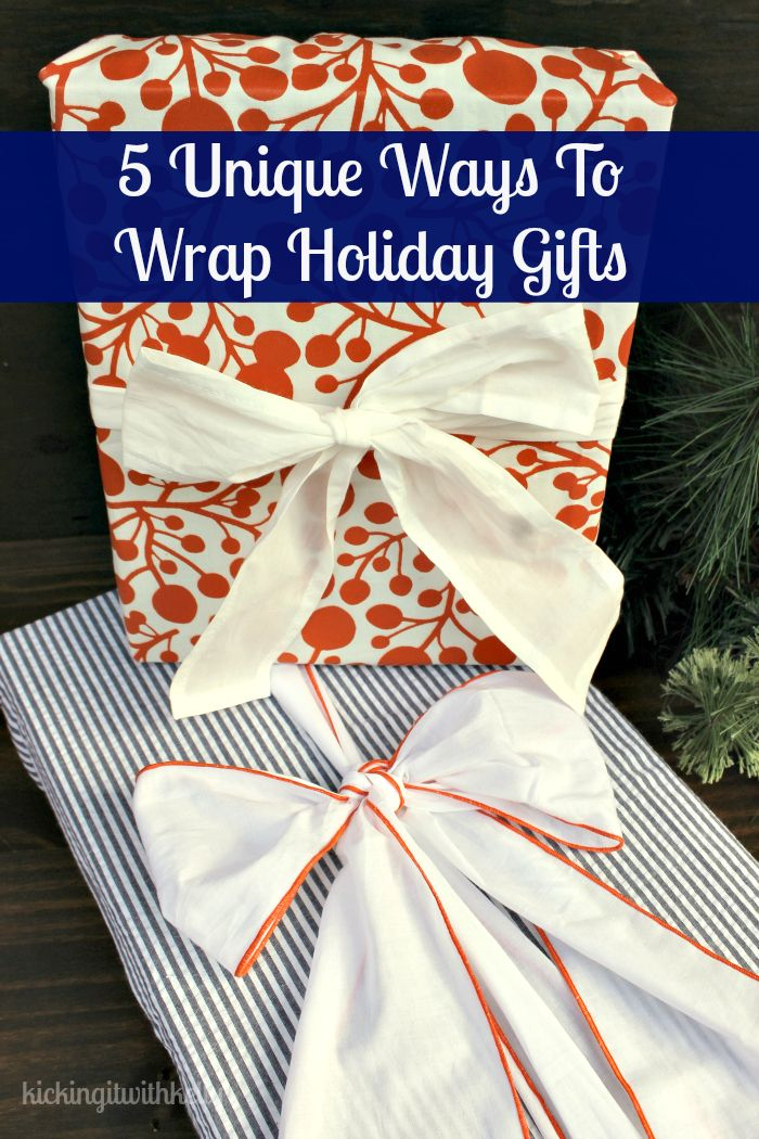 5 unique ways to wrap your holiday gifts gifts the o
