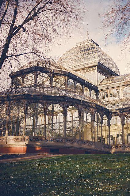El palacio de cristal by fani.iglesias, via Flickr #мор #столица