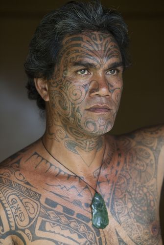 29 best polynesian tribal face tattoo images on pinterest for Polynesian tattoo near me