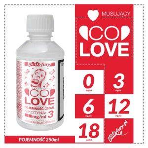 CO LOVE - MUSUJĄCY - 250 ML - E-LIQUID PINK-FURY