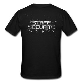 T shirt STAFF SECURITE by NSS