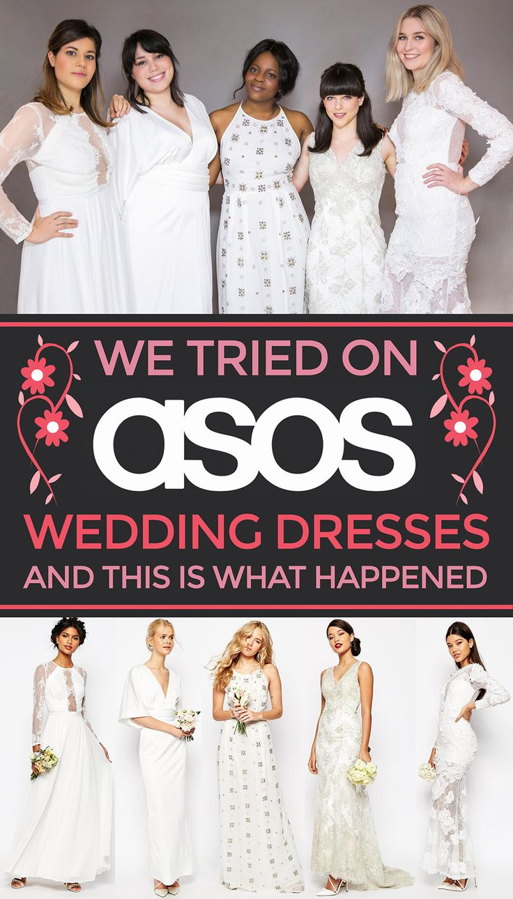 We Tried On Asos Wedding Dresses And This Is What Happened: Asos Affordable Wedding Dresses
