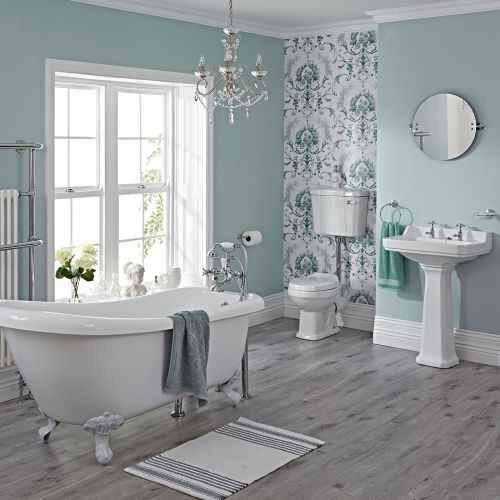 Ways to Create a Modern Country Bathroom #ways #create #modern #country #bathroom #interior #design #interiordesign #homereno #home #renovation #designer #howto #tips #ideas #inspiration #traditional