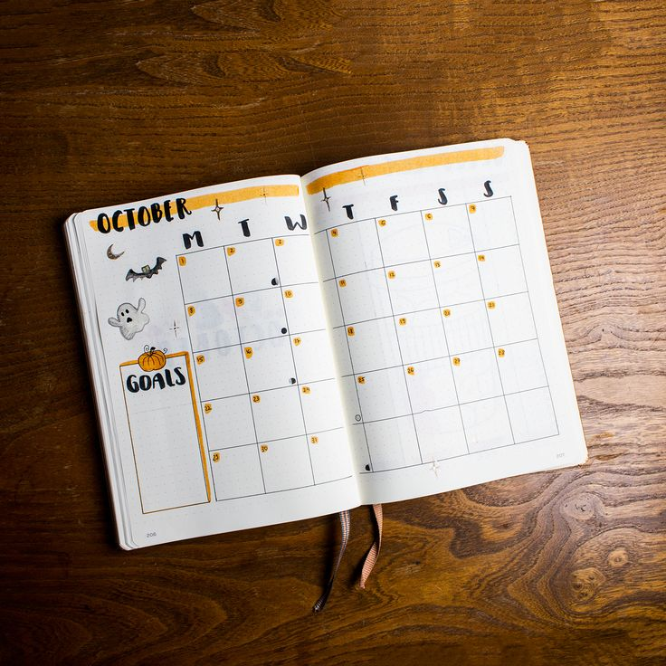 My October Bullet Journal Setup – Plan with me