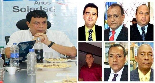 Procuraduría profirió auto de indagación Preliminar contra 16 concejales de Soledad y contra el alcalde Franco Castellanos