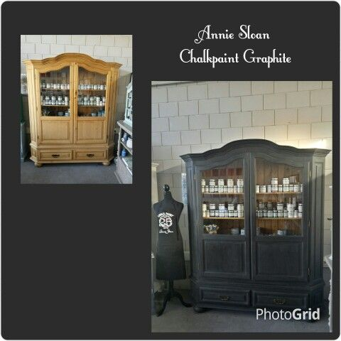 Annie Sloan Chalkpaint Graphite! Amazing color!!!!