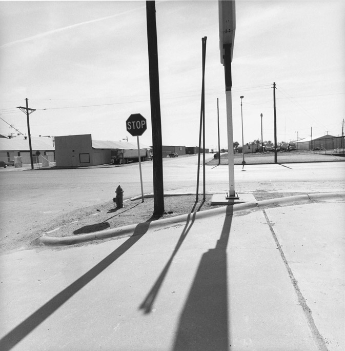 """Lee Friedlander. New Mexico, 2001, Gelatin silver print, 14-15/16 x 14-3/4"""", Gift of the photographer. MoMA"""