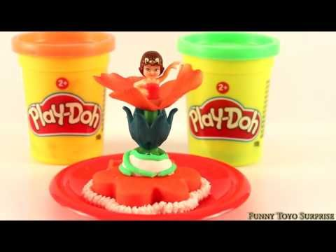 Dancing Princess Cake Play Doh Gâteau 公主,跳舞, 蛋糕 Video for Kids with Funny Toyo Surprise - YouTube