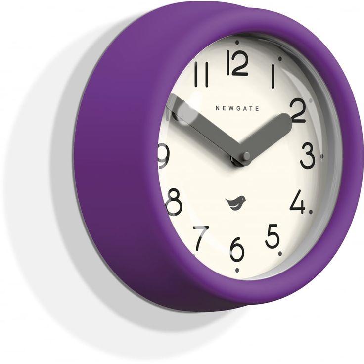 Newgate The Pantry Wall Clock - Purple