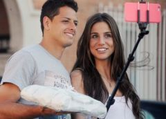 Se termina el romance entre Chicharito y Lucía Villalón según prensa española