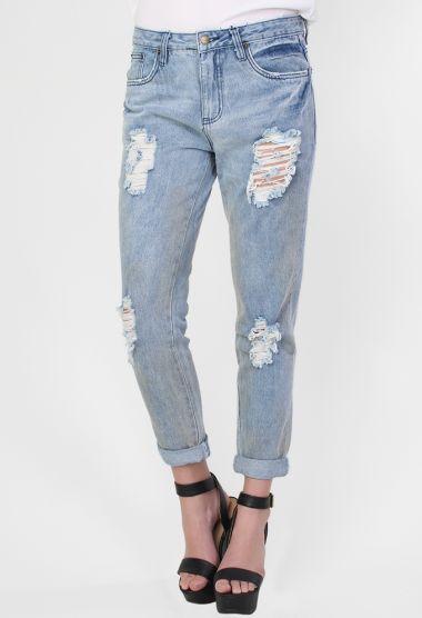 Boyfriend Jeans http://www.wildpair.co.nz/