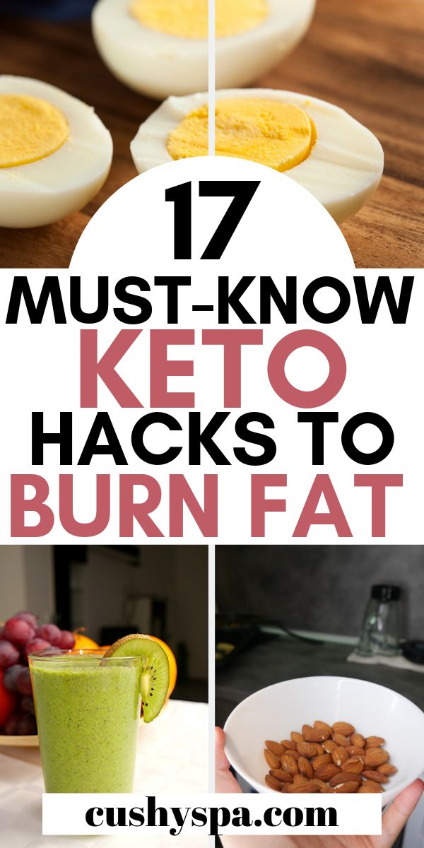 17 Must-Know-Keto-Hacks zur Fettverbrennung