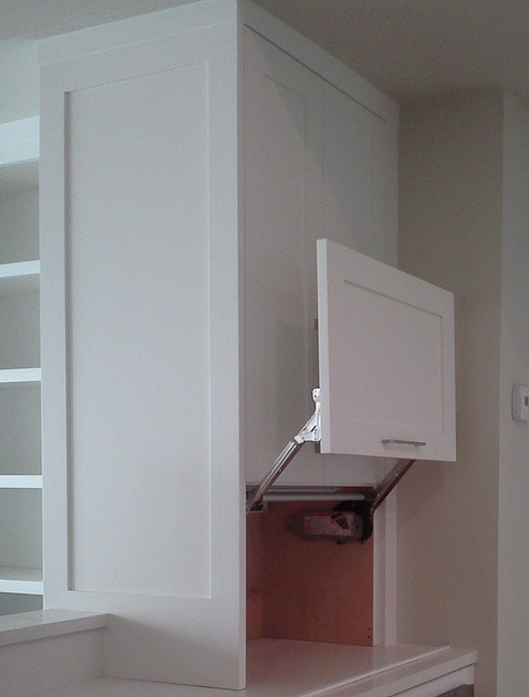 Lift Up Appliance Garage By Kitchensforliving Via Flickr