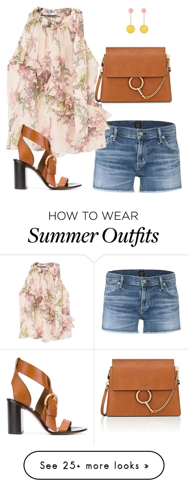 """""""Summer Concert Outfit"""" by timelesstyle13 on Polyvore featuring Citizens of Humanity, MANGO, Chloé and J.W. Anderson"""