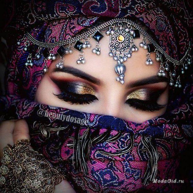 Пленительный индийский макияж 0