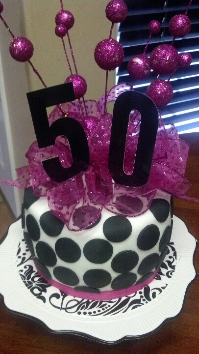 50th birthday cake...someday! Cake topper  Cake!  Pinterest  50th ...