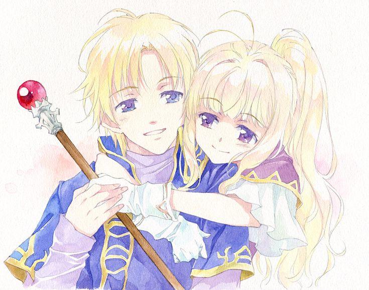 Clarine & Klein - Pent and Louise's children (Rekka no Ken/Binding Blade) Fire Emblem