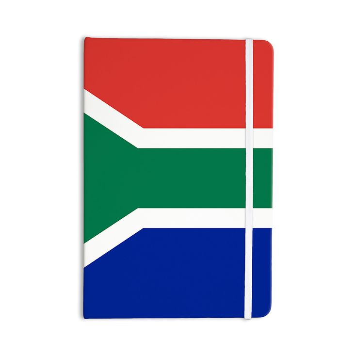 """Bruce Stanfield """"South Africa II"""" Green Blue Everything Notebook"""