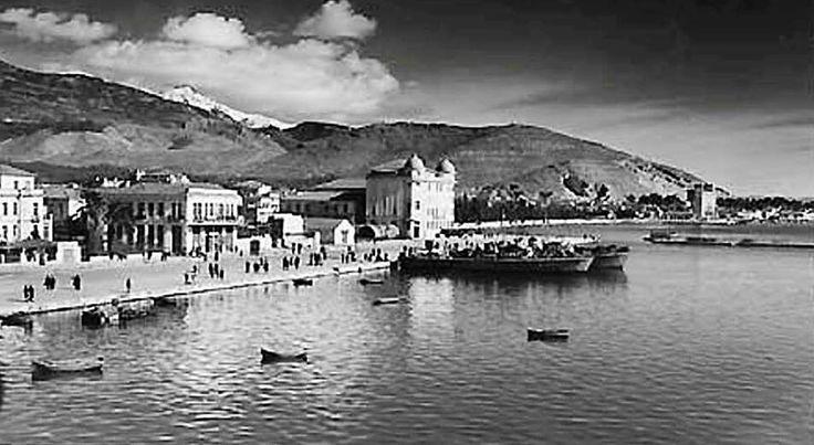 Βόλος η προκυμαία Αργοναυτών, περ. 1950. Φωτογραφία Νίκος Στουρνάρας