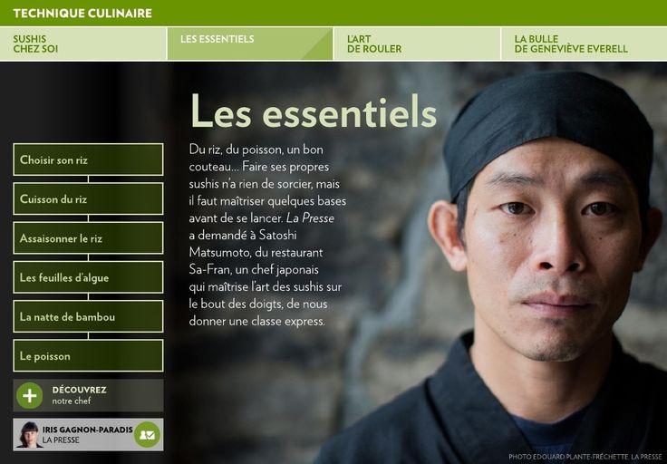 Sushis à la maison - La Presse+