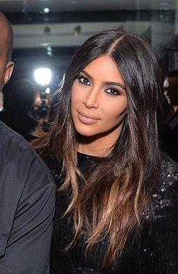 kim Kardashian Hair 2016