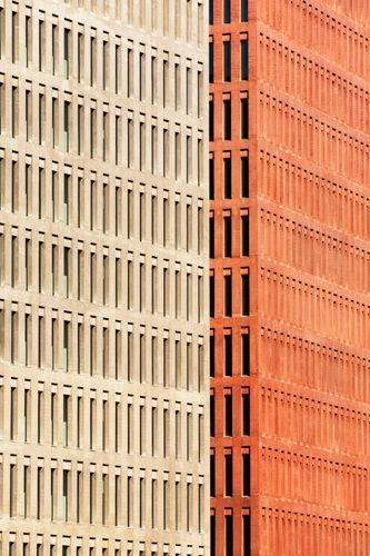 Ciutat de la Justicia (City of Justice) designed by David Chipperfield. Barcelona, Catalonia. Photo Carlos Hernandez